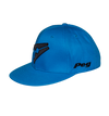 Baseball Flat Cap- Light Blue and Black