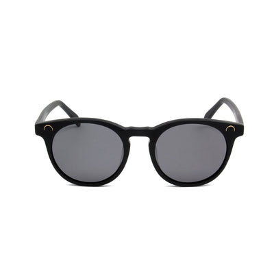 Maré Matte Black - Front View - Grey lens - Mawu sunglasses