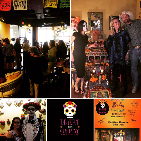 Our 1st Anniversary Dia de los Muertos Celebration