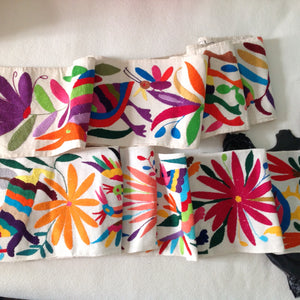 Otomi Embroidered textiles