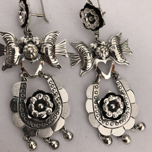 Frida Collection Sterling Silver Earrings