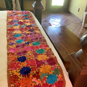 Embroidered Chiapas Runner