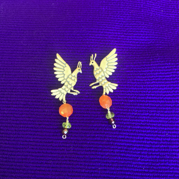 Gallo Earrings in Flight