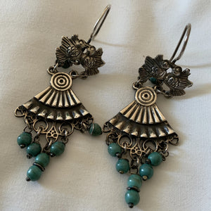 Vintage Look Baroque Earrings