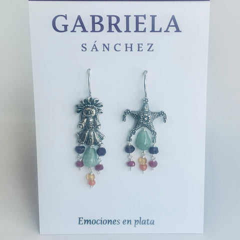 Piñata and Doll Earrings