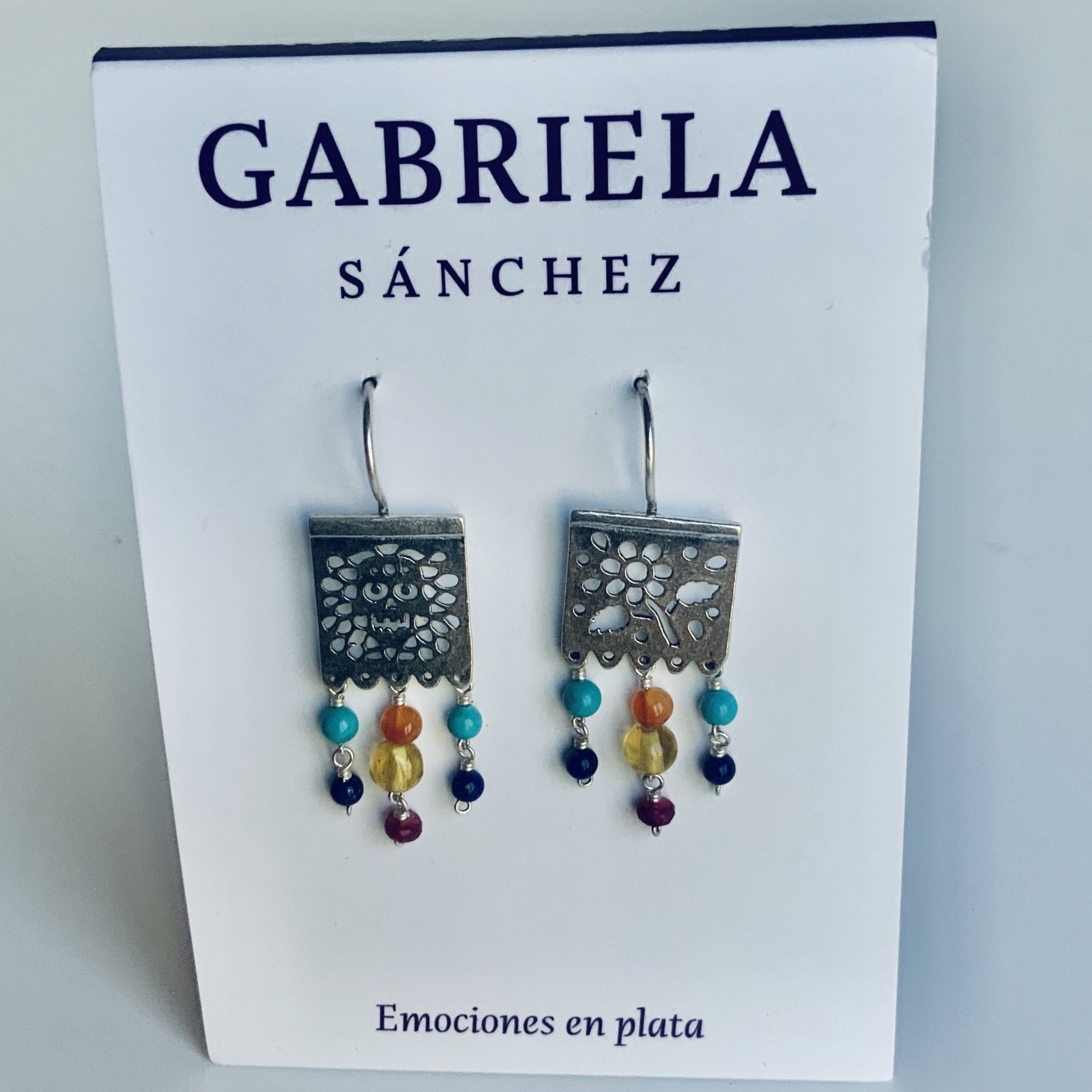 Papel Picado Earrings
