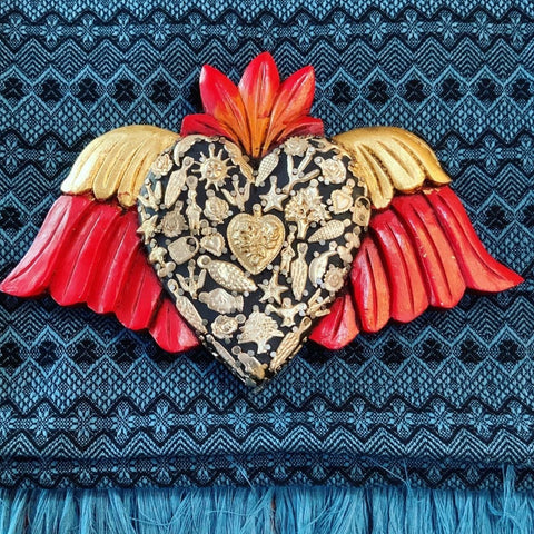 Milagro Heart with Wings