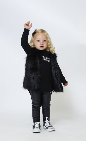 Baby Leather Leggings