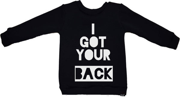 I Got Your Back Sweatershirt - ayuki