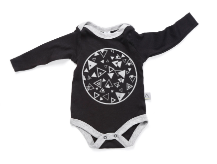 Black/Silver Newborn Gift Set - ayuki