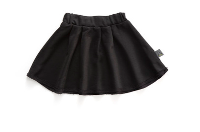 Black Circle Skirt - ayuki