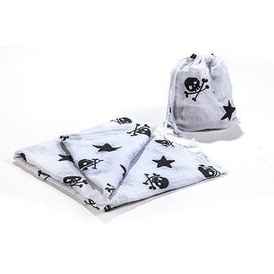 Rock and roll Muslin swaddle blanket - ayuki