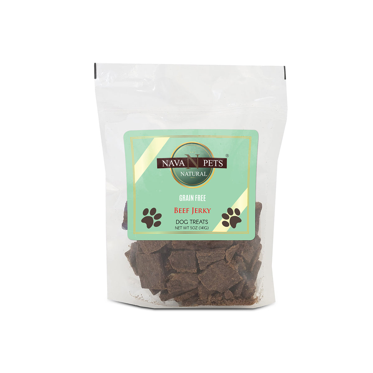 Nava Pets Dog Beef Grain-Free Jerky Treats 5OZ