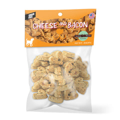 Nava Pets All-Natural Cheese & Bacon Grain-Free Dog Treats - 4OZ