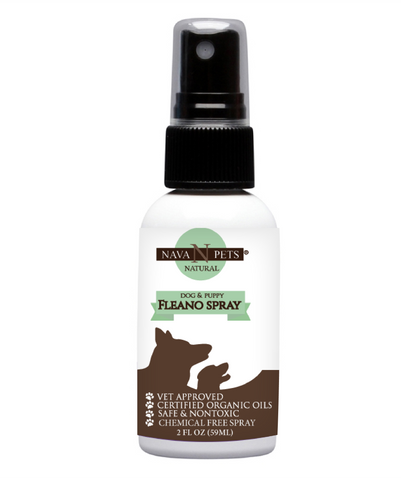 FLEANO Organic Dog Relief Spray - NAVA Pets