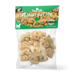 Nava Pets All-Natural Goat Milk Peanut Butter Grain Free Dog Treats - 2OZ