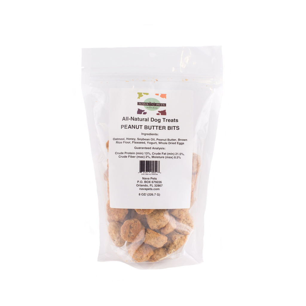 All Natural Dog Treats Peanut Butter Bits  15.00% Off Auto renew - NAVA Pets