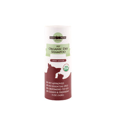 Organic Dry Pet Shampoo (Sensitive Skin), Herb Medley 5OZ