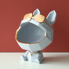 Cool Dog Décor Sculpture and Storage Box