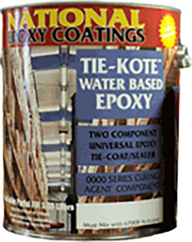 Tie-Kote - Waterbase Epoxy Primer Gallon Kit