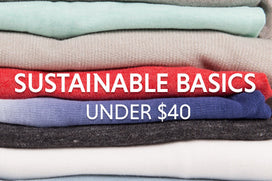 Men's Sustainable Basics: Under $40