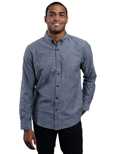 Bryce Chambray Button-Up Shirt