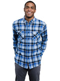 Paltz Flannel Button Down Shirt - Celestial