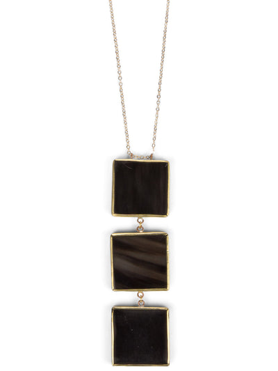 Ladder Cuadro Pendant Necklace