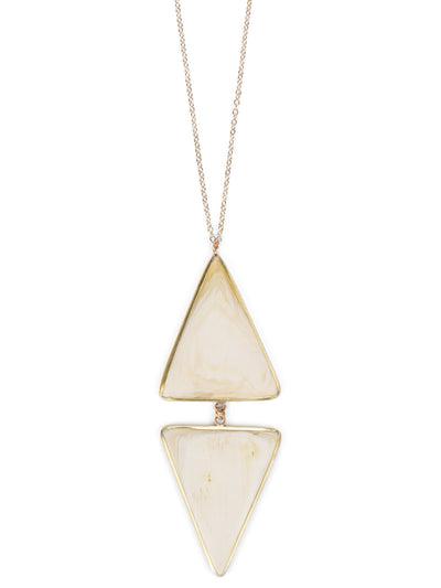 Double Arrowhead Pendant Necklace