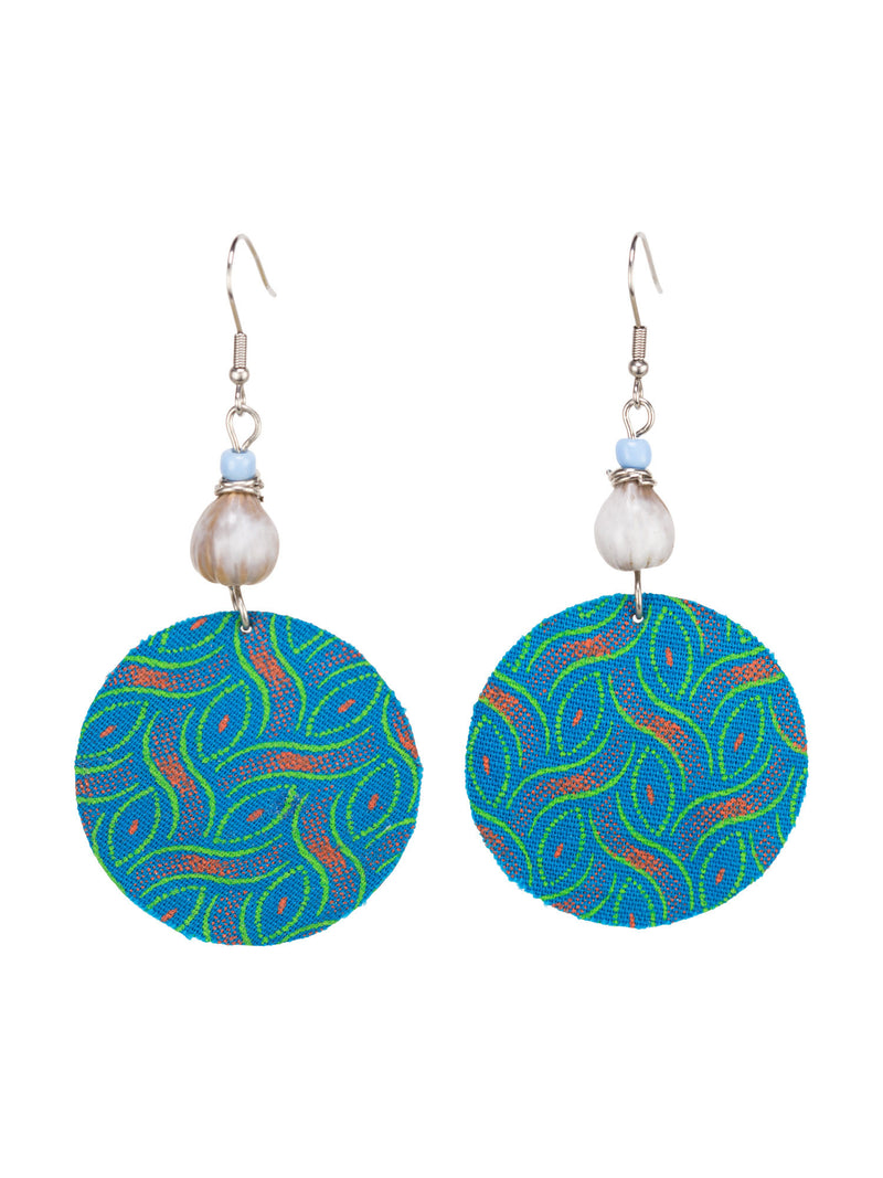 Captivate Earrings - Teal