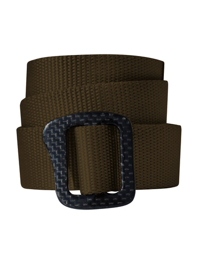 Carbonator Carbon Fiber Belt - Brown
