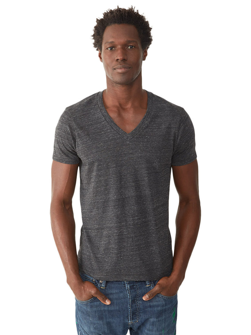 Boss Triblend V-Neck Tee - Eco Black