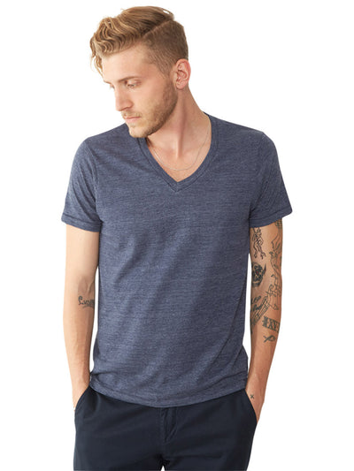Boss Triblend V-Neck Tee - Eco True Navy