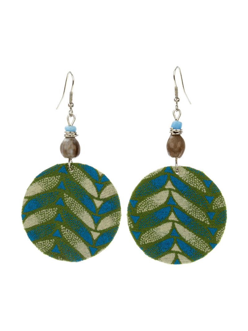 Captivate Earrings - Blue & Green