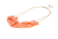 Scattered Pebble Collar Necklace - Sunset