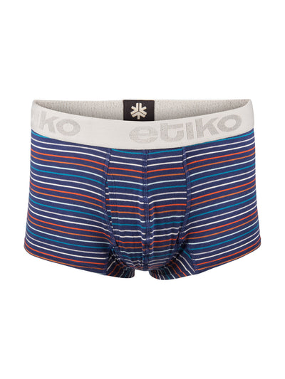 Men's Organic Cotton Boxer Briefs - Stripe