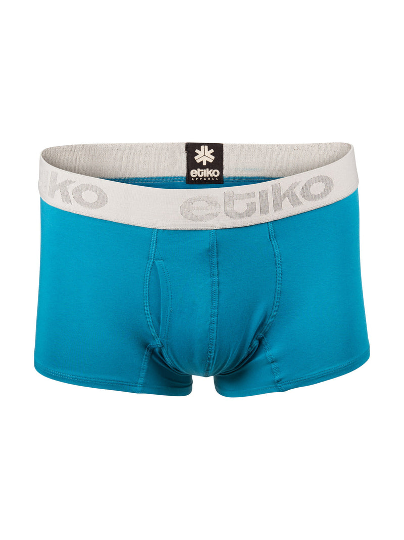 Men's Organic Cotton Boxer Briefs - Blue