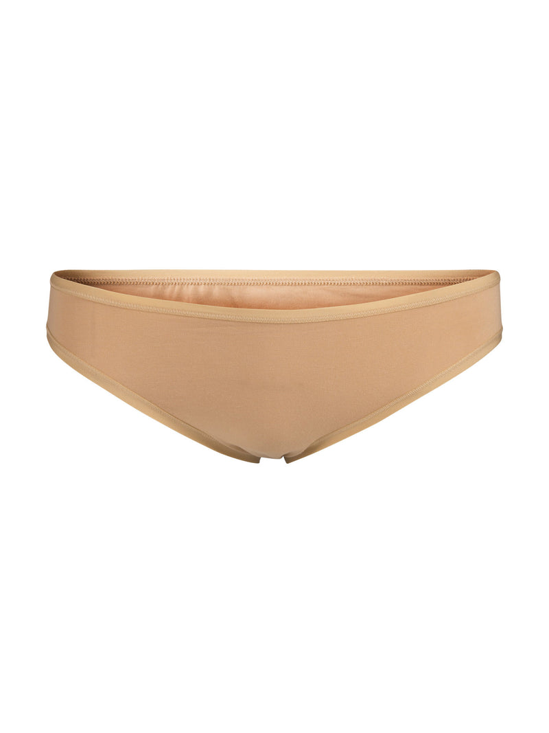 Women's Organic Cotton Bikini Panties - Tan