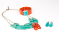 Scattered Pebble Bracelet - Sunset and Turquoise