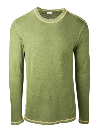 Long Sleeve Hemp Tee - Forest