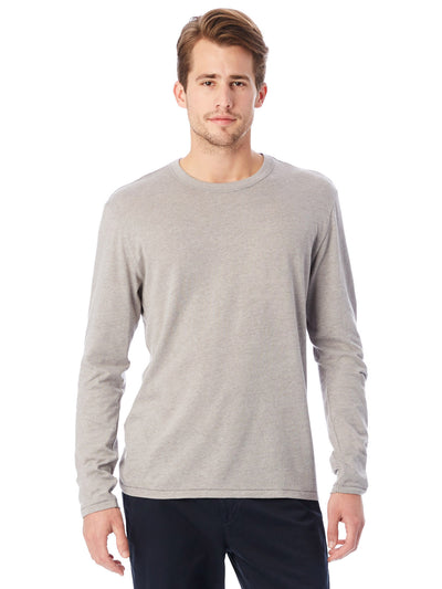 Keeper Vintage Jersey Triblend Long Sleeve Tee - Smoke Grey