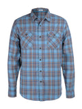 Burner Flannel Shirt - Coastal Blue