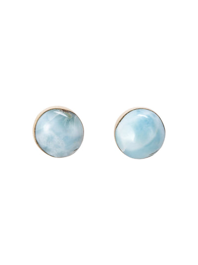 Princess Larimar Post Earrings