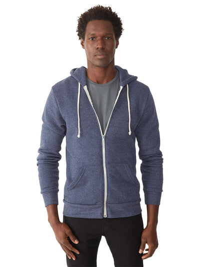 Rocky Eco-fleece Zip Hoodie - Eco True Navy
