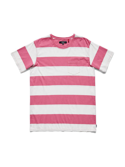 Backwall Organic Cotton Tee - Rose