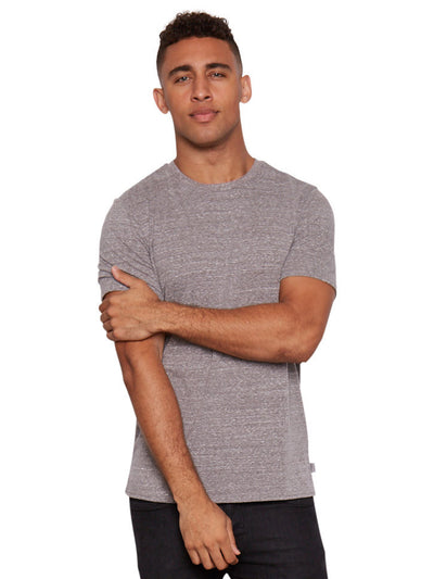 Triblend Crew Tee - Heather Grey