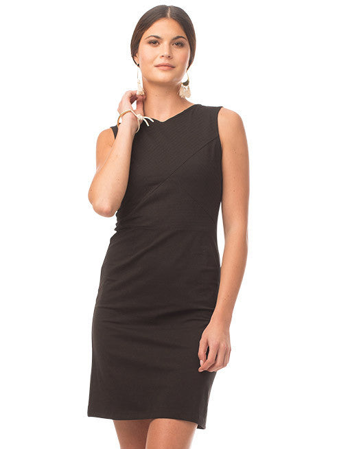 Kristy Organic Cotton Dress - Black
