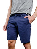 Holston Organic Cotton Shorts - Navy Blue