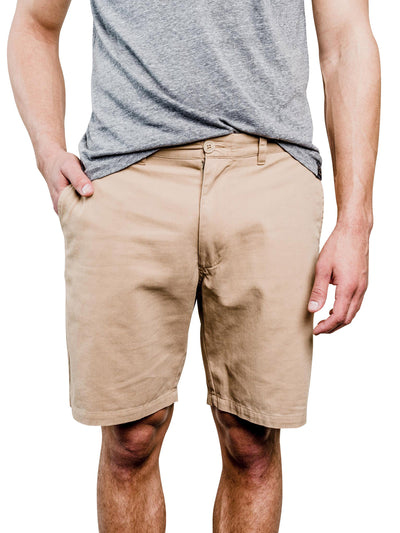 Holston Organic Cotton Shorts - Tan