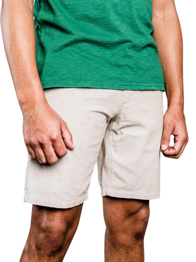 Selby Organic Cotton Shorts - Tan